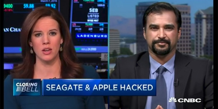 Apple and Seagate Hacked