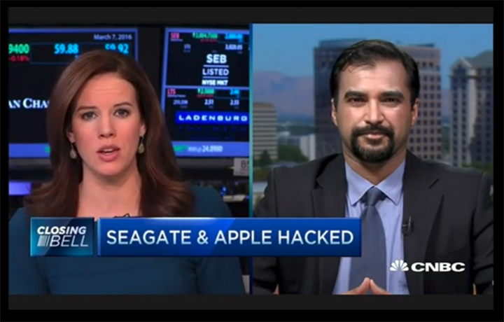 Zulfikar Ramzan- Seagate and Apple Hacked- CNBC The Closing Bell 3/7/16