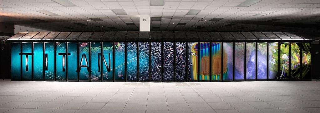 The Titan supercomputer at the Oak Ridge National Laboratory